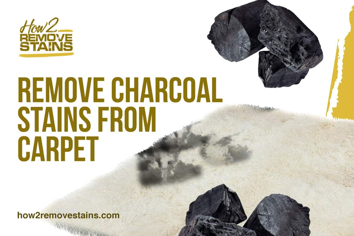 How to remove charcoal stains from carpet