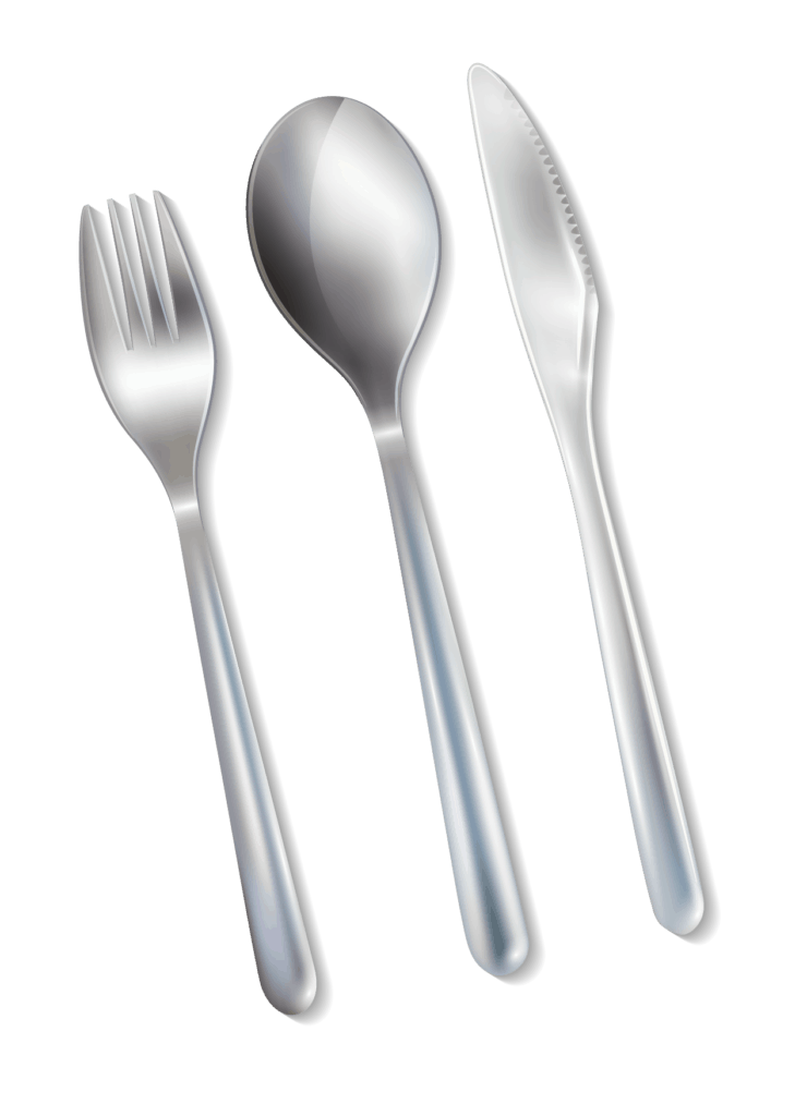 Get tarnish on your silverware faster with baking soda