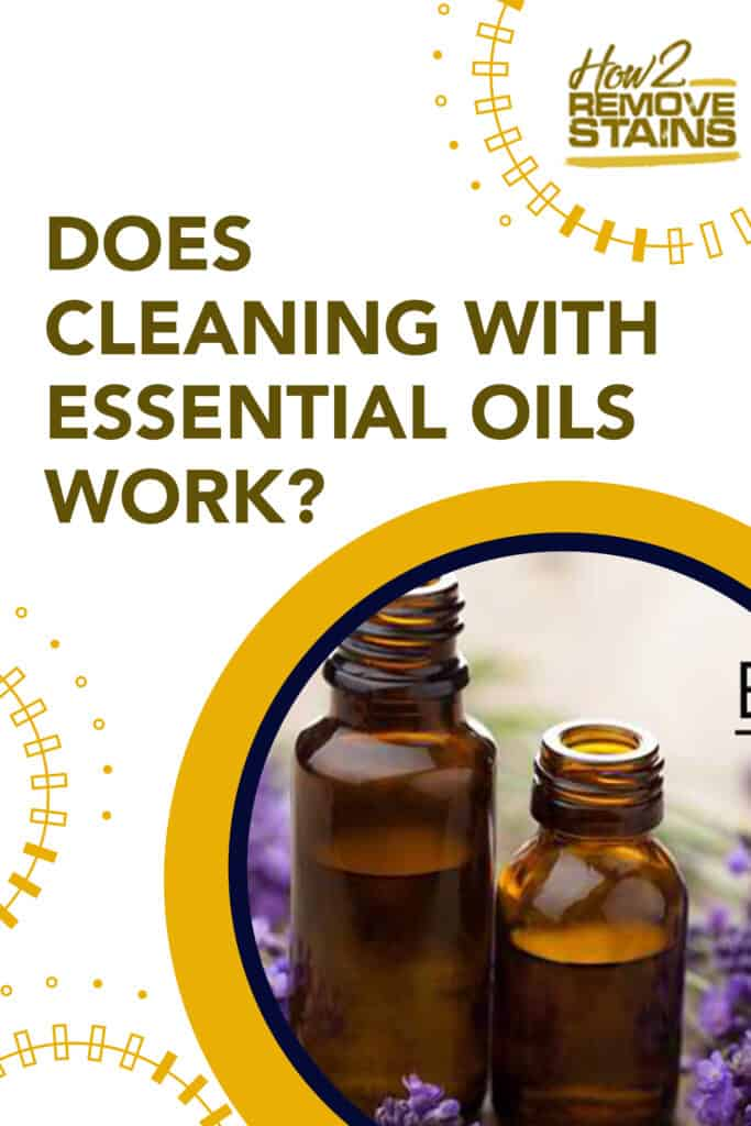 Does cleaning with essential oils work?