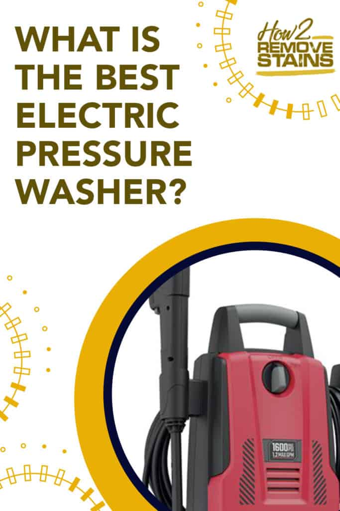 What is the best electric pressure washer?