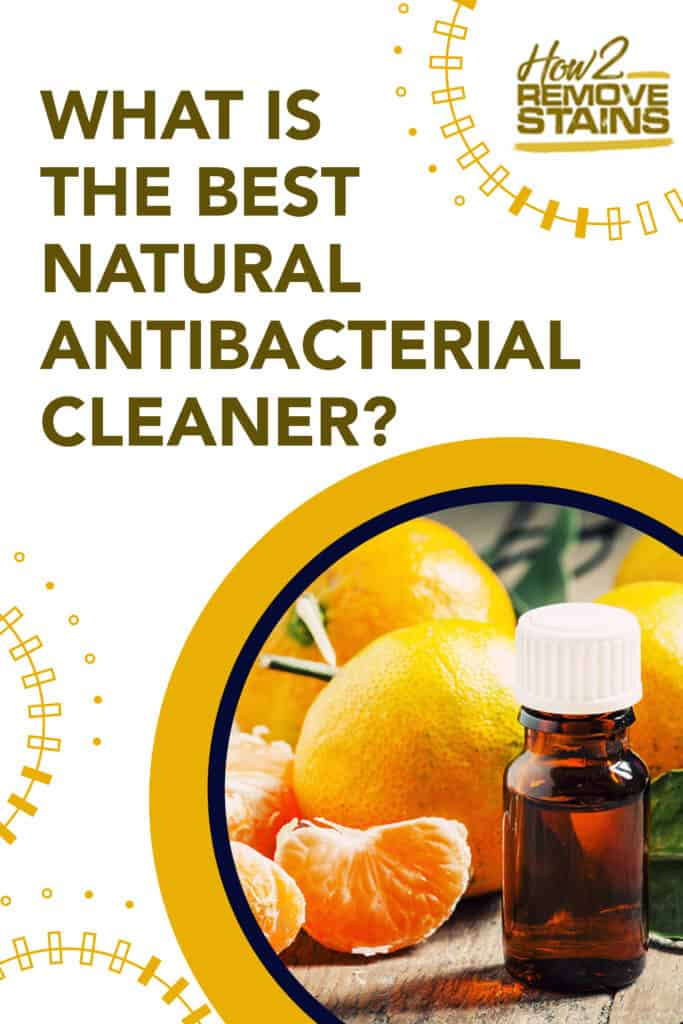 What is the best natural antibacterial cleaner?