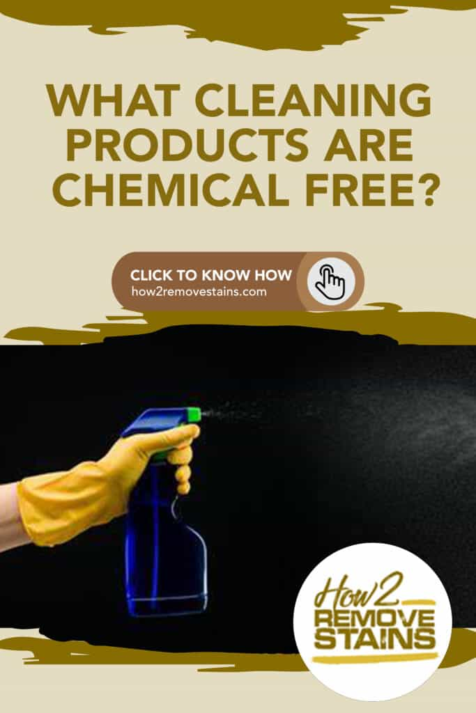 What cleaning products are chemical free?
