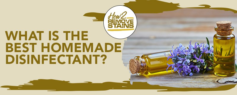 What is the best homemade disinfectant?