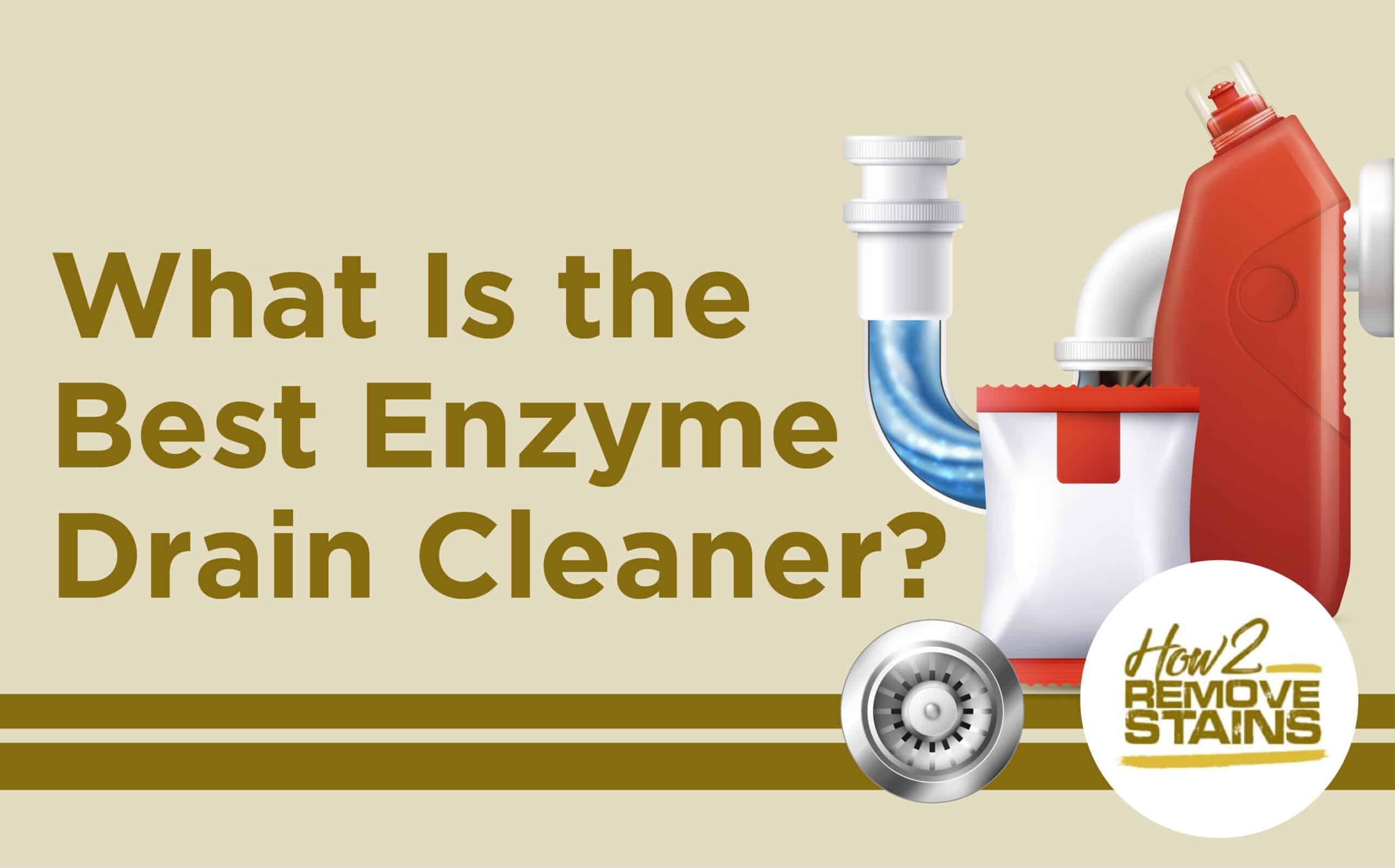What Is the Best Enzyme Drain Cleaner